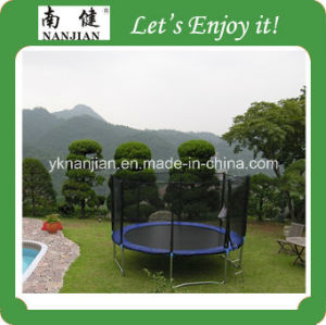13ft Outdoor Huge Bungee Trampoline with Safety Net Jump Sport Trampoline for Adults pictures & photos