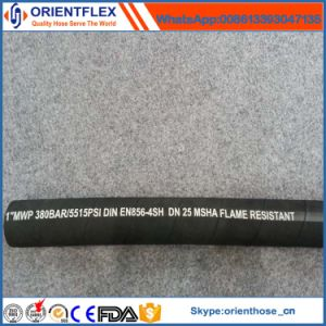Wire Spiraled Hydraulic Hose for En856 4sh/4sp pictures & photos