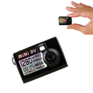 Smallest Digital Camera Video Recorder Mini DV with Motion Sensor pictures & photos