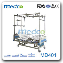 4-Crank Manual Hospital Orthopedic Bed pictures & photos