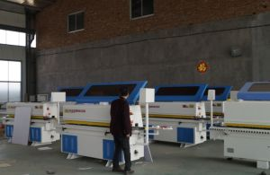 with Pre-Milling Automatic Wood Edge Banding Machine pictures & photos