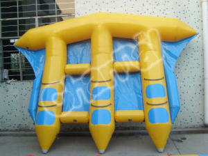 Inflatable PVC Boat Flying Fish for Water Game (BO003) pictures & photos