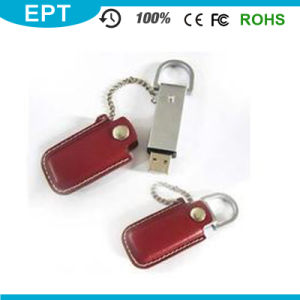 USB 3.0 Keychain Leather Wholesale USB Flash Drive (TL006) pictures & photos
