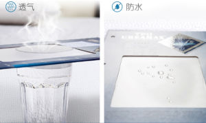 White Terry Queen Size Deep Pocket Waterproof Mattress Protector pictures & photos