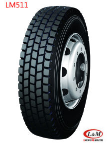Hot Sale 295/80r22.5 Longmarch Drive Radial Truck Tyre (LM511) pictures & photos