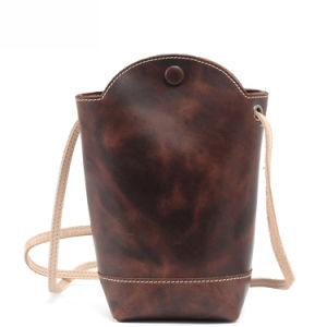 Top Grain Leather Leisure Ladies Shoulder Bag (RS-2025) pictures & photos