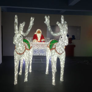 Christmas Outdoor Decoration Beautiful RGB LED Deer Light pictures & photos
