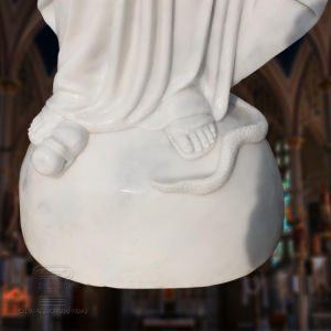 White Marble St Mary Statue, Religious Statue Sculpture T-6810 pictures & photos