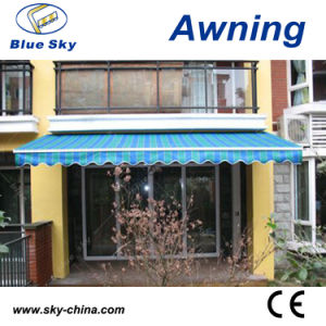 Economic Patio Portable Polyester Motorized Retractable Awning (B1200) pictures & photos