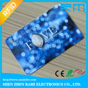 Round Corner Smart Card/Contactless RFID Card with F08 Chip pictures & photos