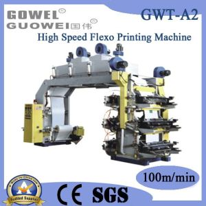 Six Color High Speed Paper Flexo Printing Machine (GWT-A2) pictures & photos