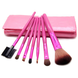 7PCS Portable Makeup Cosmetic Brush Set Kits pictures & photos