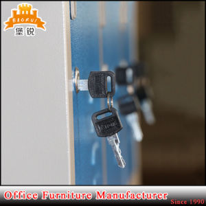Durable Steel Iron Metal Clothes Storage Cabinet /Metal Wardrobe Jas-031 pictures & photos
