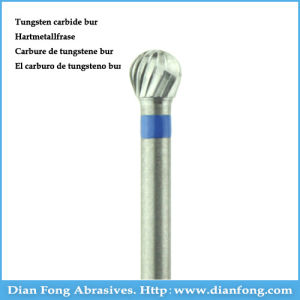 D040cn Good Quality Standard Plain Cut Dental Tungsten Carbide Drill pictures & photos