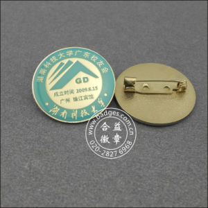 Zinc Alloy Silver Plated Badge, Name Lapel Pin (GZHY-LP-024) pictures & photos