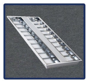 Ceiling Lamp 1220*600/T5/4X40W Recessed Mounted Grille Lamp pictures & photos