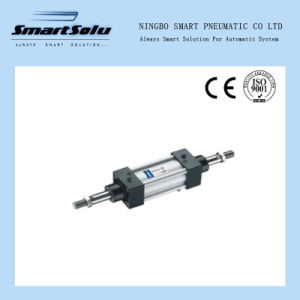 Si Series ISO6431 Sid Double-Shaft Air Cylinder pictures & photos