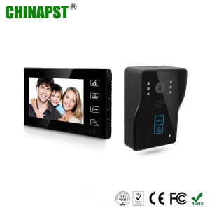 7 Inch Hands Free 4 Wires Video Intercom Doorphone (PST-VD704T-ID) pictures & photos