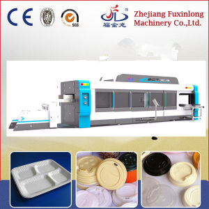 Automatic Four Station Thermoforming Machine for Coffee Lid pictures & photos