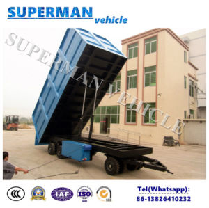 20t Agriculture Use Cargo Dump Trailer/ Tipping Trailer pictures & photos