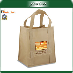 Customized Logo Reusable Grocery Tote Bag pictures & photos