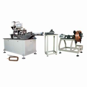 Full Automatic Magnetic Field Coil Winding Shaping Machine pictures & photos