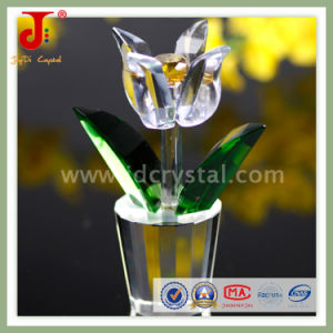 Artificial K9 Crystal Flower for Gift (JD-CF-302) pictures & photos