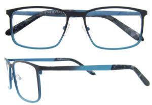 Oculos Italy Design German Fullrim Black Metal Wholesale Frame Eyewear pictures & photos