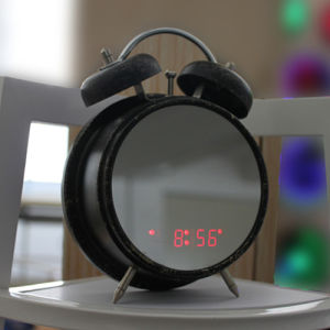 Novelty Twin Bell Alarm LED Display Table Clock pictures & photos