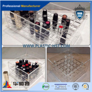 Lipstick Holder, Clear Acrylic 12 18 24 Spaces Organizer pictures & photos