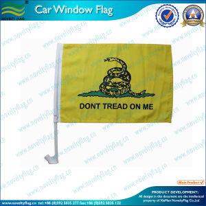 Don′t Tread on Me Car Flag, USA Car Flag (T-NF08F01014) pictures & photos