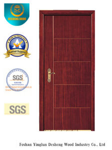 Modern Design MDF Door for Room with Brown Color (xcl-032) pictures & photos