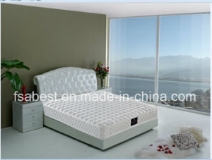 Cheap Price Pure White Bonnell Spring Mattress ABS-2801 pictures & photos