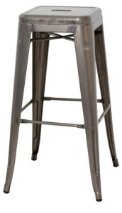 Stackable Outdoor Galvanized Coffee Tolix Bar Stools (DC-05005) pictures & photos