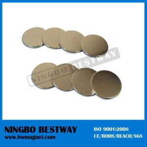 Zinc Coating Neodymium Disc Magnet for Sale pictures & photos