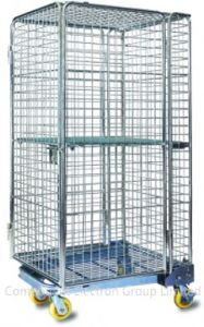 Storage Cage Shopping Container, Metal Container, Wire Mesh Cage, Storage Container, Metal Racks pictures & photos
