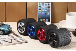 Gymsense GS-08 Round Mini Bluetooth Speaker Audio Tire Speaker Wheel Speaker pictures & photos