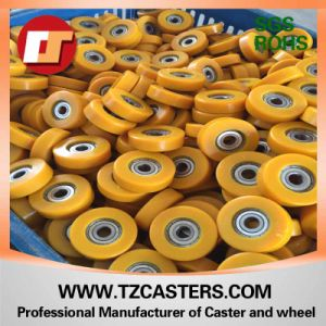 PU Roller with Bearing 6201 pictures & photos