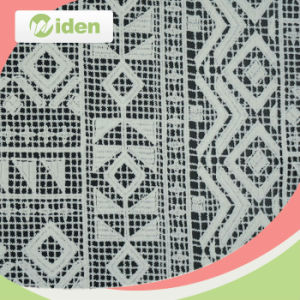 Make to Order Polyester Embroidered Chemical Lace Fabric pictures & photos