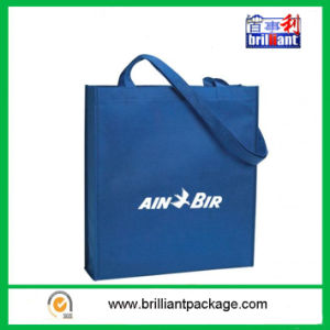 Customized Blue Supermarket Shopping Bag pictures & photos