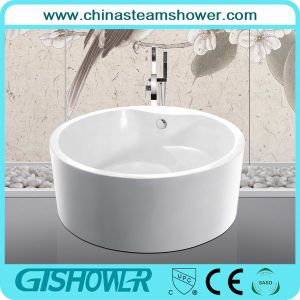 New Style Bathtub with Seat, Rounded Acrylic (KF-759) pictures & photos