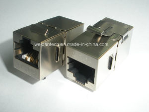 CAT6A FTP Coupler, 180 Degree pictures & photos