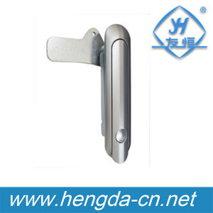 Yh9620 Industrial Cabinet Plane Zinc Alloy Paddle Handle Lock pictures & photos