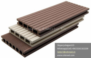 2016 Hot Sale Anti-Slip Fire-Resistant WPC Solid Decking Board pictures & photos