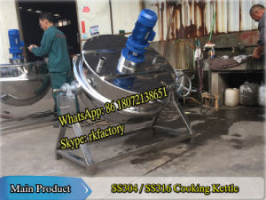 300L Steam Heating Jacketed Kettle pictures & photos