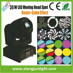 Hot Sell 30W Mini Beam Moving Head LED Effect Lights pictures & photos