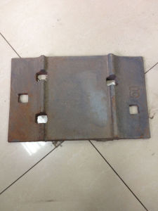 Hot Rolling Steel Tie Plate Applied for 50kg/M Rail pictures & photos