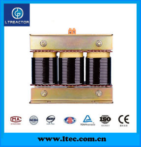 30kv Electrical Equipment Three Phase Dry Type Iron Core Series Reactor for Capacitor Banks pictures & photos