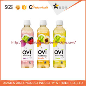 Printed Label Printing Pet Heat Shrinking Bottle Sticker for Beverage pictures & photos