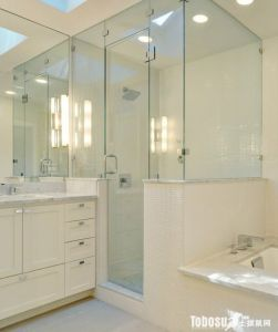 T-Shaped Square Bathroom Glass Ftiitng Clamp (CR-G27) pictures & photos